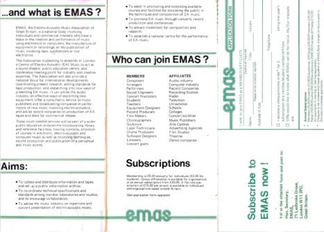 EMAS cover